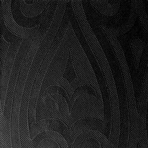 Duni textilhatású szalvéta Elegance Lily fekete