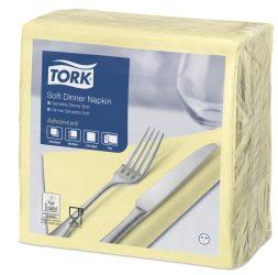 Tork Dinner Soft szalvéta pezsgő