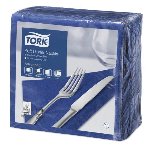 Tork Dinner Soft szalvéta sötétkék