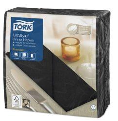 Tork Linstyle Dinner szalvéta fekete