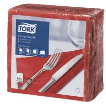 Tork Dinner szalvéta piros