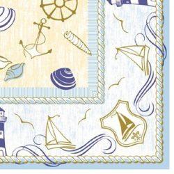 Mank textilhatású szalvéta Coast