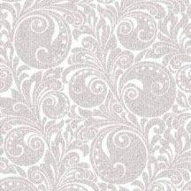 Mank textilhatású szalvéta Jordan ezüst