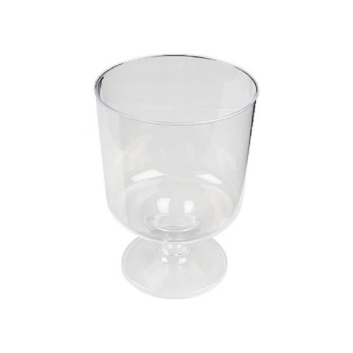 Eldobható pohár 20-40 ml víztiszta talpas pálinkás