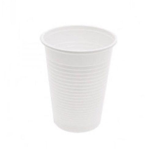 Eldobható pohár 100 ml fehér