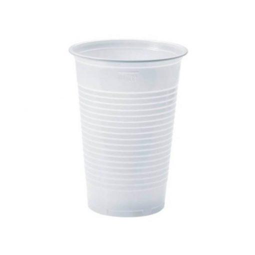 Eldobható pohár 200 ml fehér