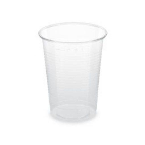 Műanyag pohár 2 dl víztiszta