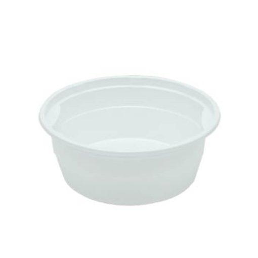 Műanyag gulyás tányér fehér 500 ml