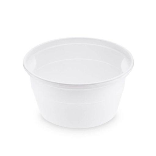 Műanyag gulyás tányér fehér 750 ml