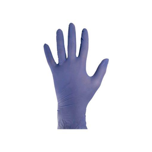 Egyszerhasználatos kék nitril kesztyű - 200 db / S méret