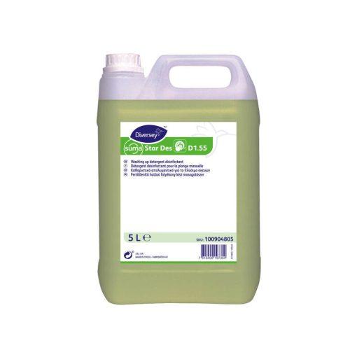 Suma Star D1.55 Fertőtlenítő tisztítószer és kézi mosogatószer - 5 liter