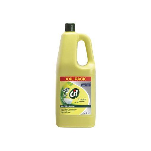 Cif folyékony súrolószer citrom illattal - 2 liter