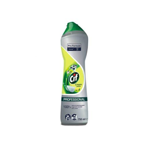 Cif Professional Cream súroló citrom illattal - 750 ml