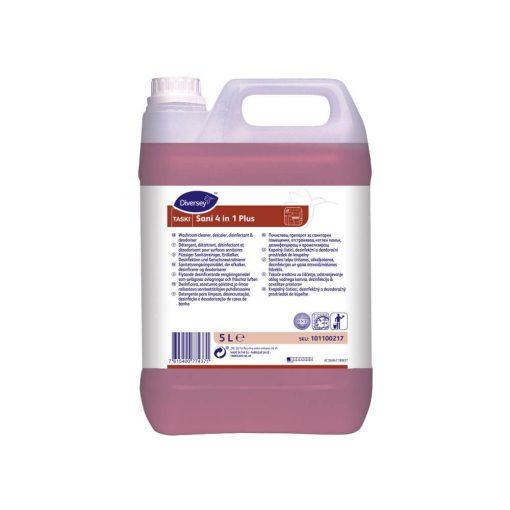 Taski Sani 4 in 1 vízkőoldó és fertőtlenítőszer illatosító hatással - 5 liter