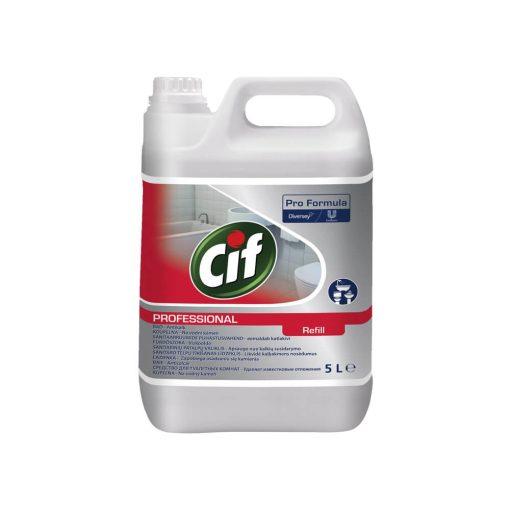 Cif Professional fürdőszobai 2 in1 szaniter tisztítószer - 5 liter