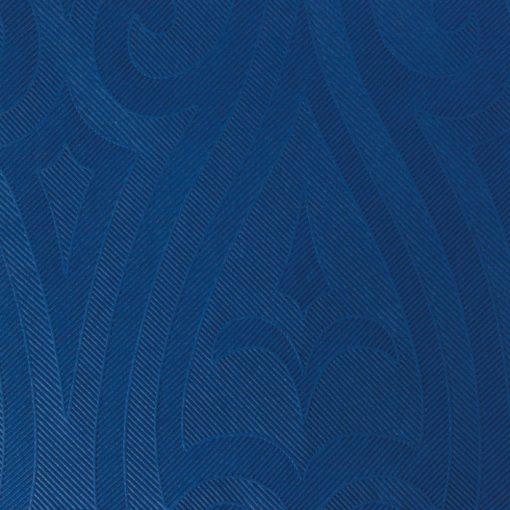 Duni textilhatású szalvéta Elegance Lily sötétkék