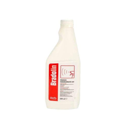 Bradolin alkoholos felületfertőtlenítőszer, kupakos