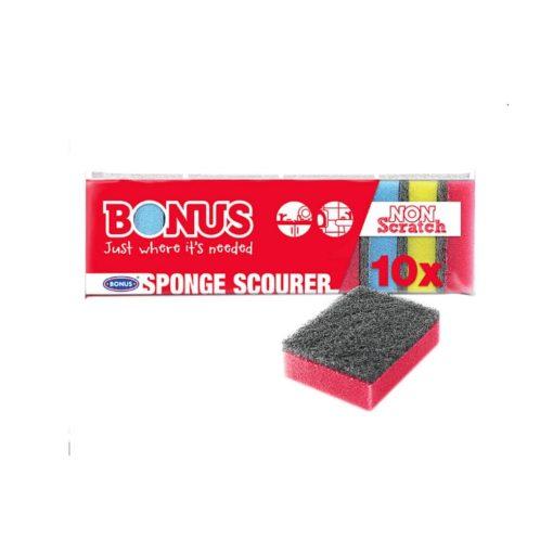 Mosogatószivacs Bonus 10 darabos