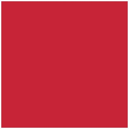 Mank textilhatású szalvéta piros