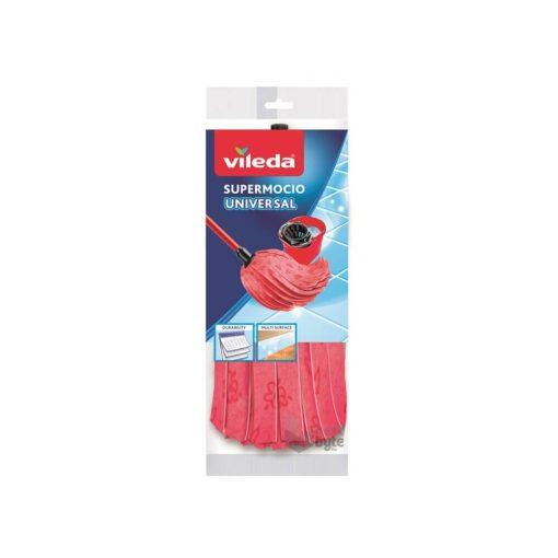 Vileda Style Supermocio mikroszálas felmosó mop, rózsaszín