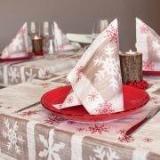 Karácsonyi microtextil szalvéta Frosen 40x40 cm